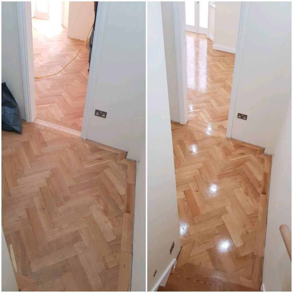 laying 3 4 hardwood flooring of wood floor fitter fitting polishing sanding sander in battersea within wood floor fitter fitting polishing sanding sander