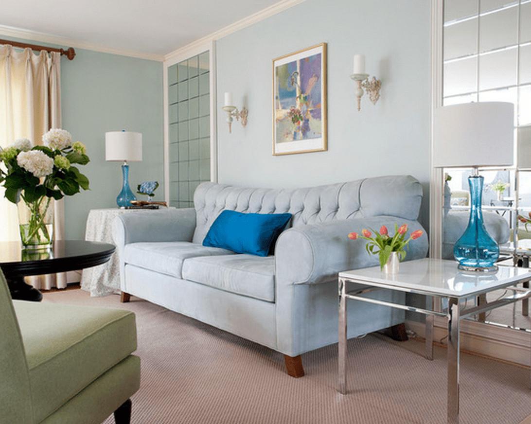 light hardwood floor living room ideas of blue living room ideas with regard to light blue walls and sofa christina marie interiors 586d8f8d3df78c17b601c707