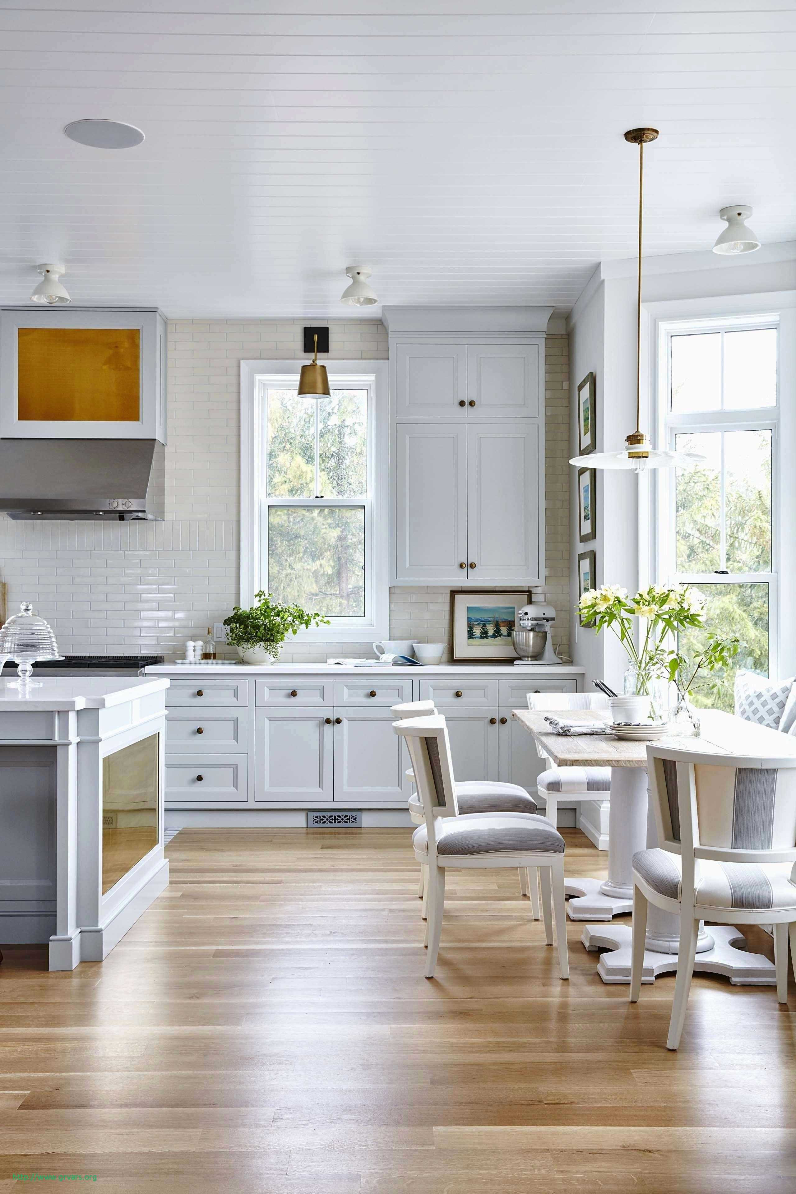 White Cabinets With Hardwood Floors