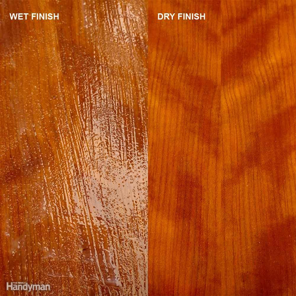 liquid hardwood floor refinishing products of tips for using water based varnish the family handyman intended for lay it down and leave it