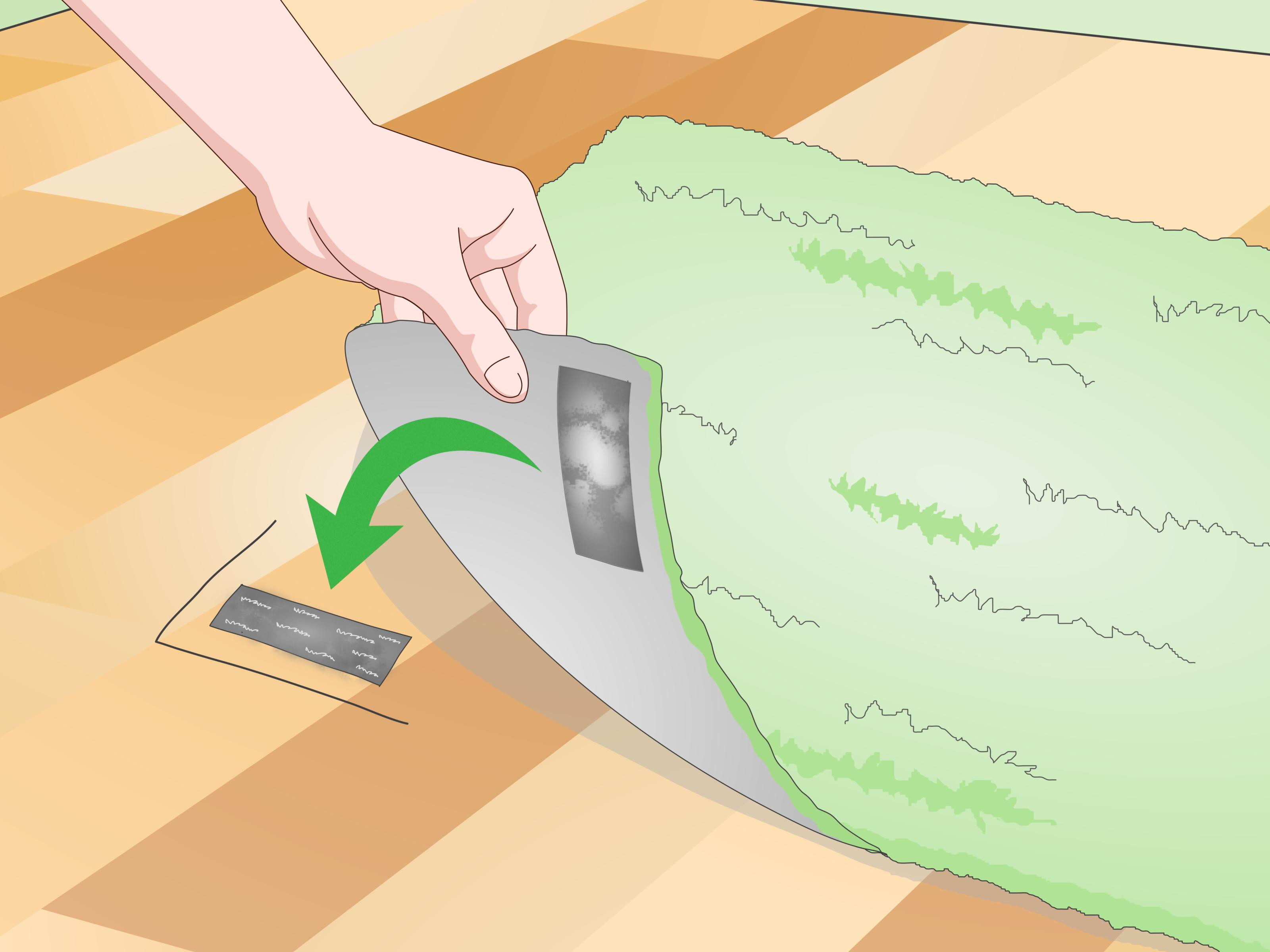 living room rug on hardwood floor of 3 ways to stop a rug from moving on a wooden floor wikihow throughout stop a rug from moving on a wooden floor step 18