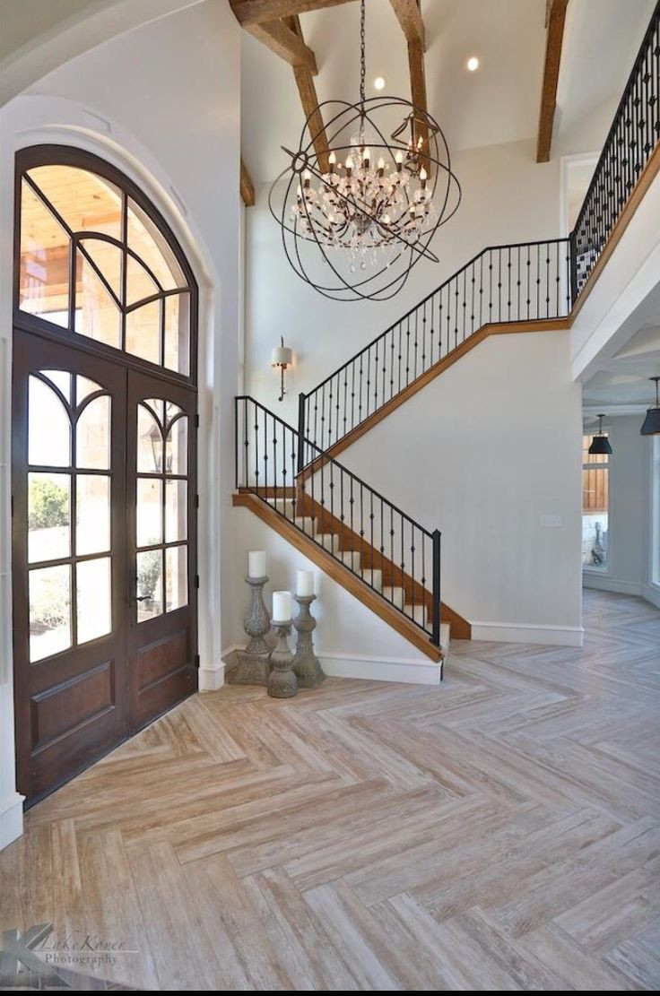 lm engineered hardwood flooring reviews of 7637 best spanish rustic modern farmhouse and vintage industrial in herringbone floor wood ceramic this or another color m love the floors and open entryway