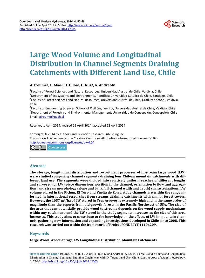 lw mountain hardwood floors inc of pdf large wood volume and longitudinal distribution in channel pertaining to pdf large wood volume and longitudinal distribution in channel segments draining catchments with different land use chile