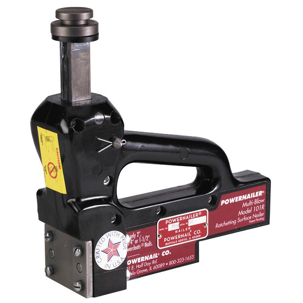 Manual Hardwood Floor Nailers for Sale Of Powernail 16 Gauge Manual Hardwood Floor Ratcheting Surface Nailer within Powernail 16 Gauge Manual Hardwood Floor Ratcheting Surface Nailer