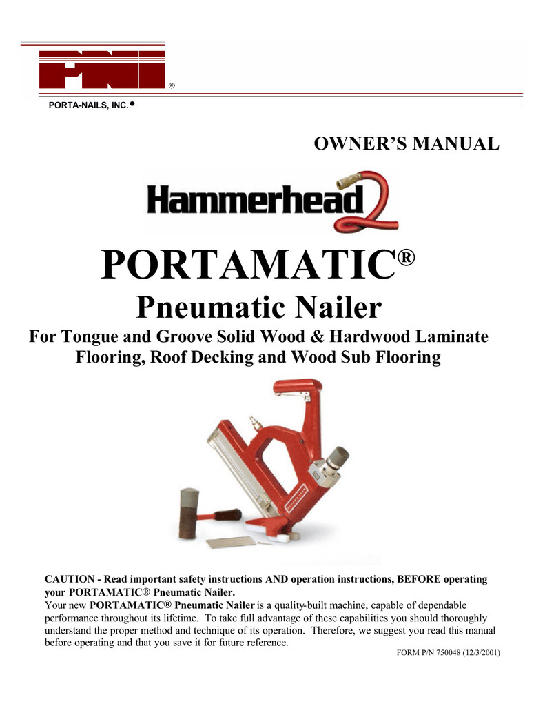 manual hardwood flooring cleat nailer of portamatic mta distributors manualzz com inside 023334119 1 6395486b12eef892983dbfe9478e4786