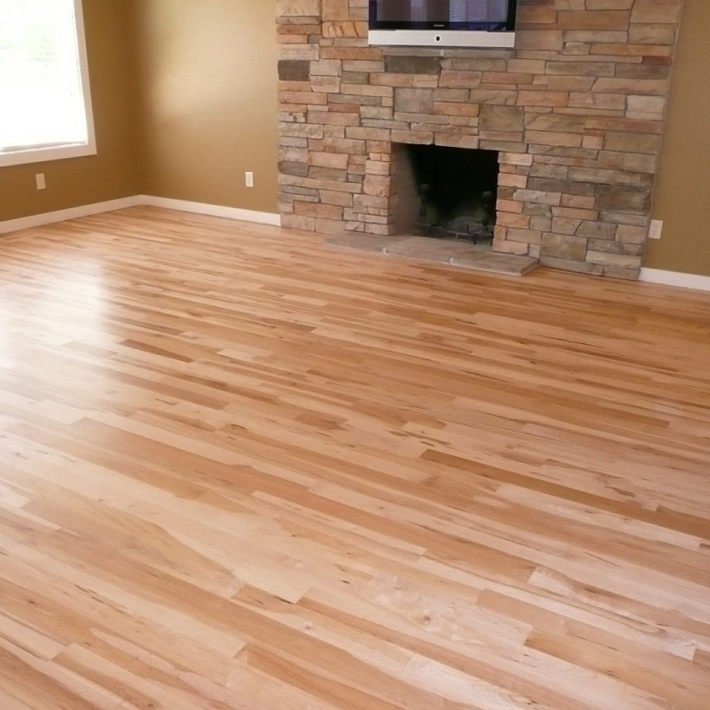 menards hickory hardwood flooring of prefinished hickory solid hardwood flooring 3 4 x 3 at menards pertaining to prefinished hickory solid hardwood flooring 3 4 x 3 at menards home improvments pinterest engineered hardwood living room kitchen and room kitchen