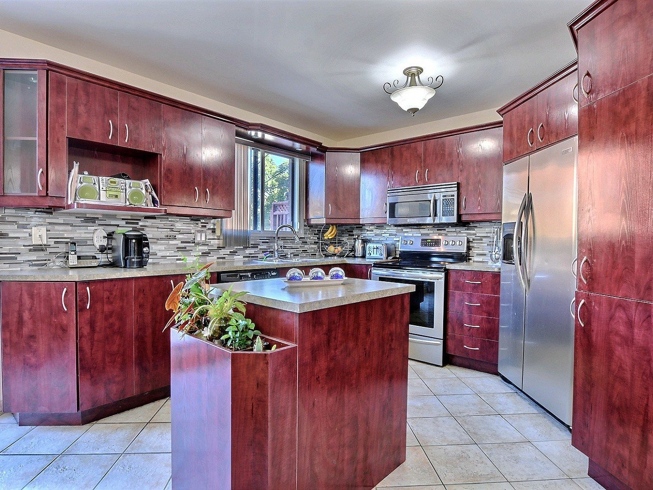 Mercier Hardwood Flooring Prices Of Two or More Storey sold 7797 Boul Maurice Duplessis Rivia¨re Des Intended for Interior Kitchen