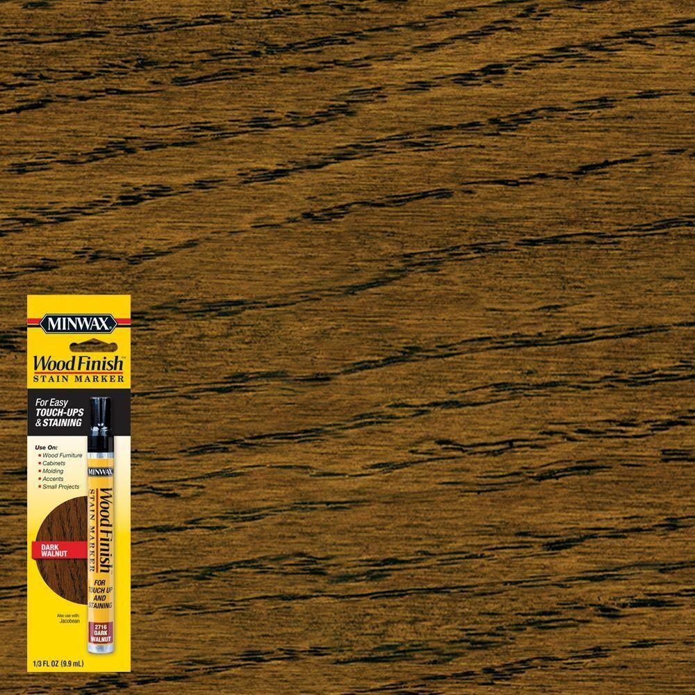 minwax 32 oz hardwood floor cleaner of minwax 1 3 oz dark walnut wood finish stain marker 8 pack with minwax 1 3 oz dark walnut wood finish stain marker 8 pack