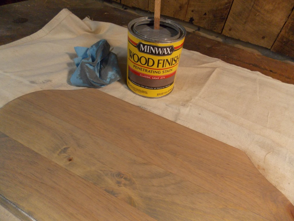 "minwax hardwood floor cleaner of create a paint dipped stool minwax blog professional woodworking regarding first though i stained the board with minwaxa wood finisha""¢ in classic gray to give the wood more of an aged worn look that would go well with the piece"