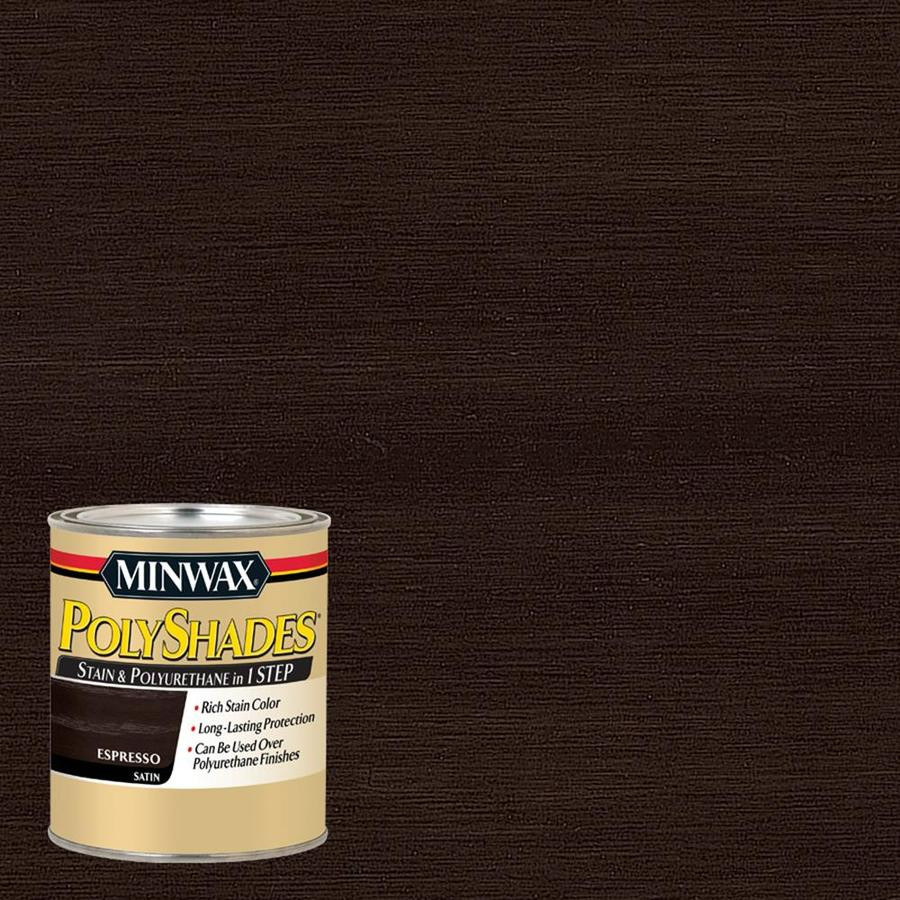 minwax hardwood floor stain colors of shop interior stains at lowes com intended for minwax polyshades espresso oil based interior stain actual net contents 32 fl