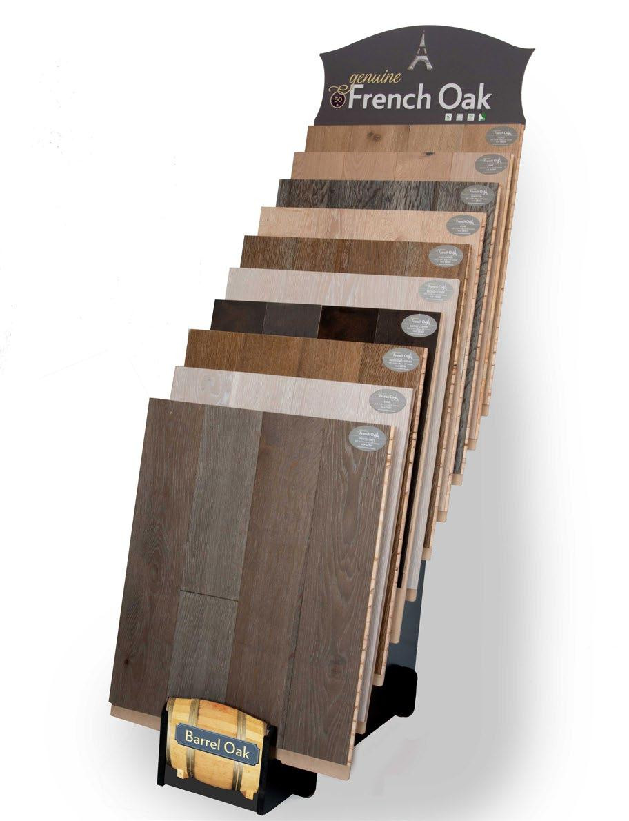 oak hardwood flooring cost per square foot of y e a r genuine french oak pantim wood products inc for within display