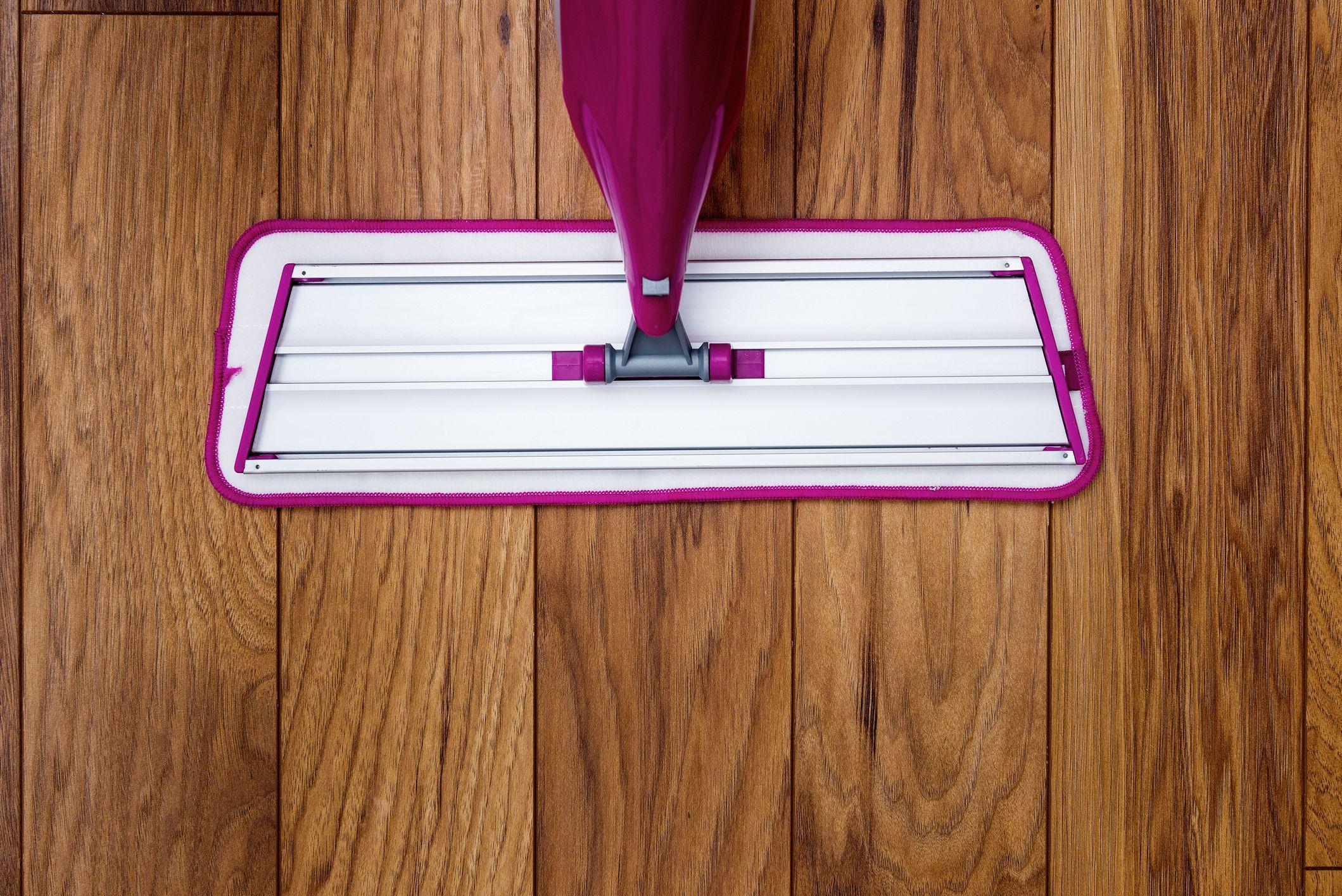 orange glo hardwood floor care kit of the best way to clean laminate floors in mop gettyimages 510300933 586f0aa15f9b584db33595ee
