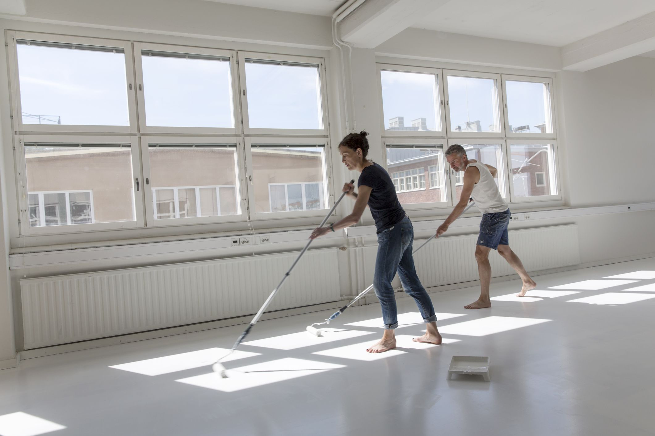 Painted Hardwood Floors Pinterest Of How to Paint A Plywood Floor with Regard to Paintingplywoodfloor Gettyimages 696143855 59f9481c685fbe001109a805