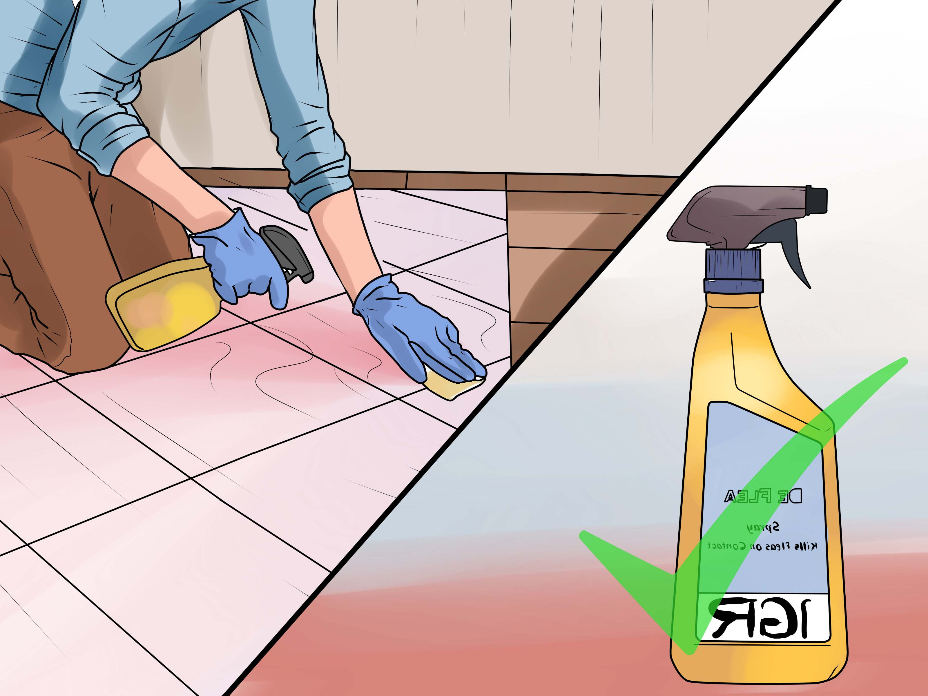 pet hair and hardwood floors of 5 ways to rid your pet of fleas wikihow in rid your pet of fleas step 23