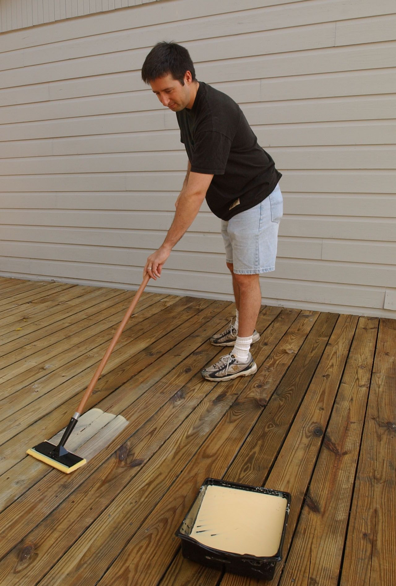 phillips hardwood floors omaha of a paint pad is a great tool for applying thompsons water seal inside a paint pad is a great tool for applying thompsons water seal waterproofers whether its a clear or tinted wood protector or a semi transparent or solid