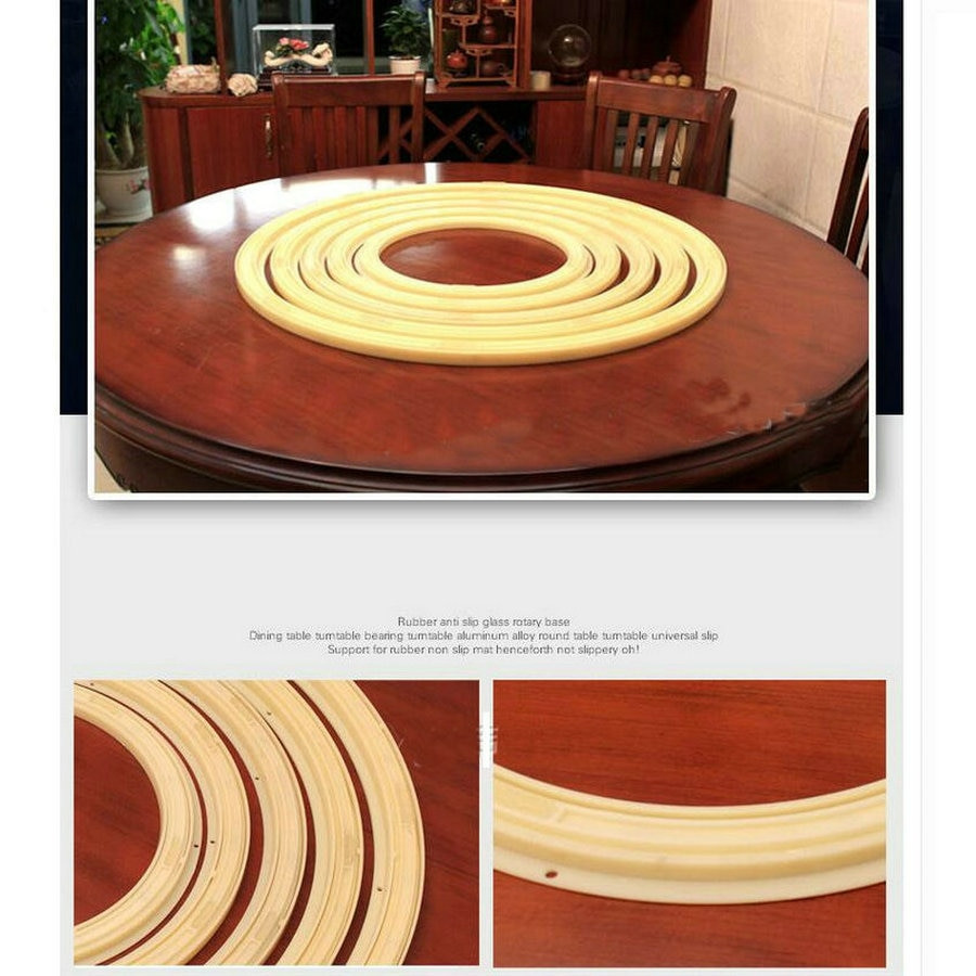 plastic hardwood floor protector of 16in 40cm strong abs plastic anti slip universal rotary lazy susan pertaining to 16in 40cm strong abs plastic anti slip universal rotary lazy susan turntable bearing larizonay susan for dining round table in furniture frames from