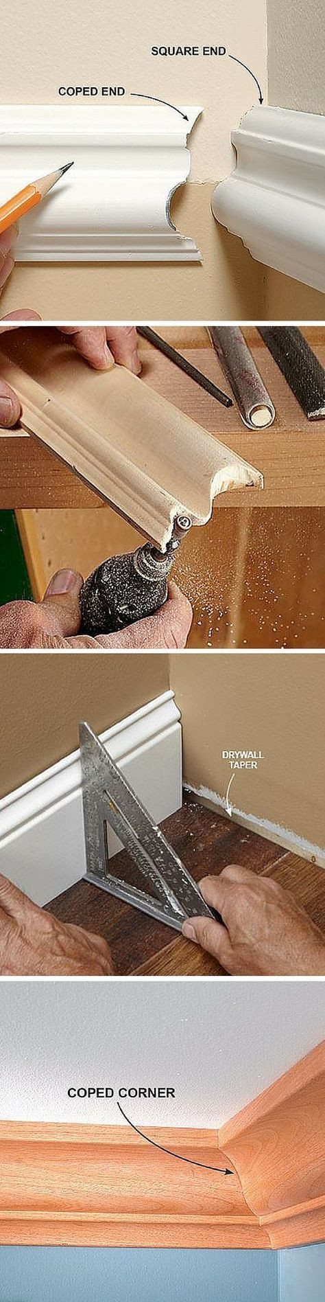porta nailer hardwood floor nailer of 79 best wood working images on pinterest woodworking crown pertaining to how to cope joints