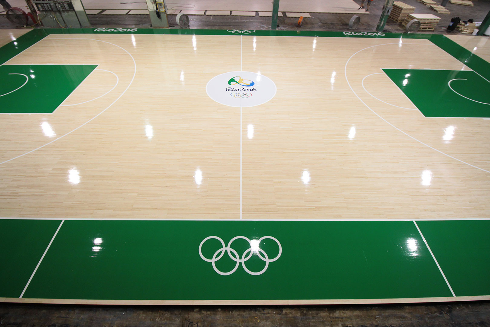 praters hardwood flooring chattanooga of praters finishes courts for rio olympics wrbc chattanooga intended for rioolympics1