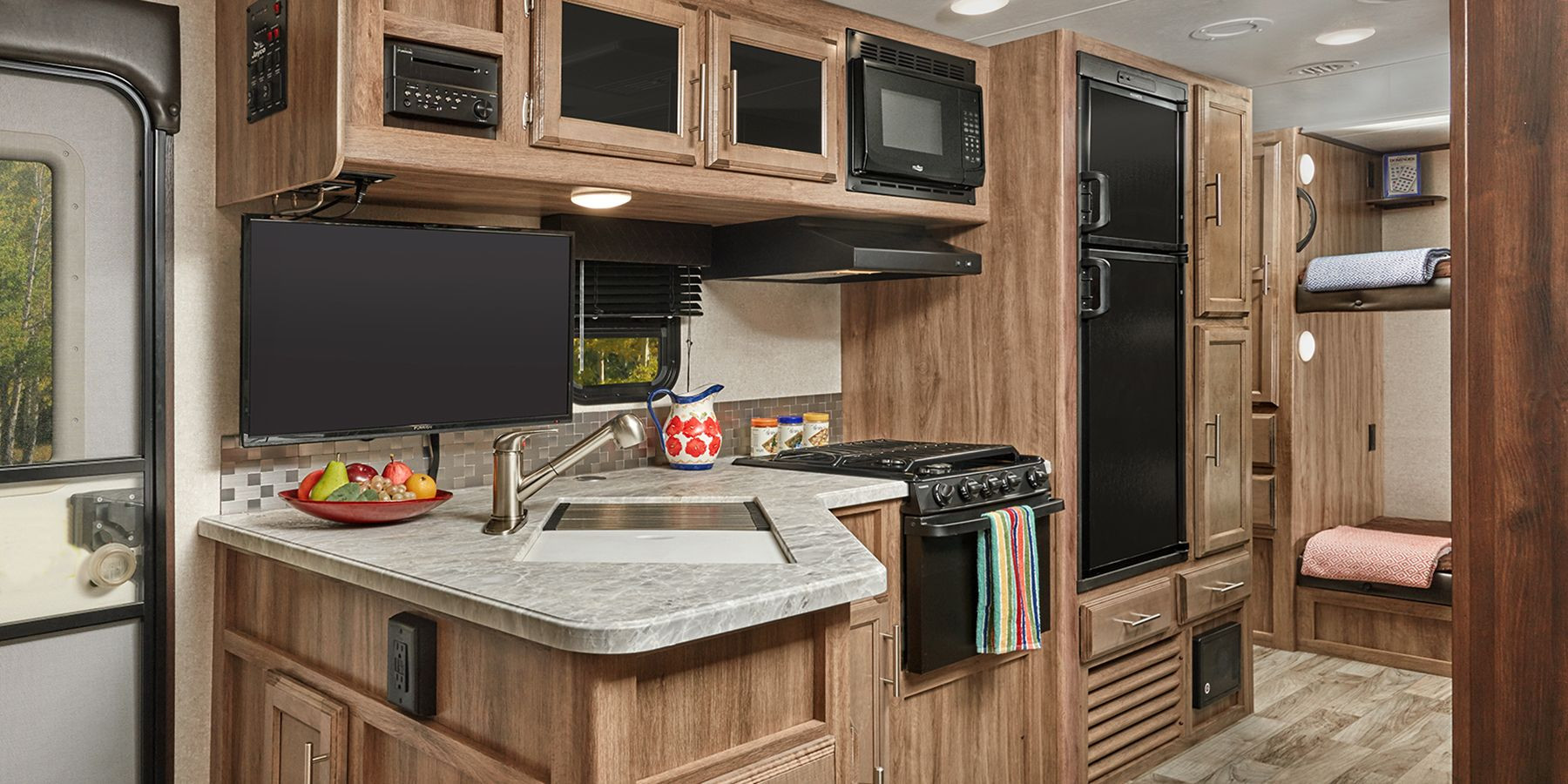 prestige hardwood flooring bend oregon of 2019 jay feather travel trailers jayco inc with a fully equipped kitchen a 6 cubic