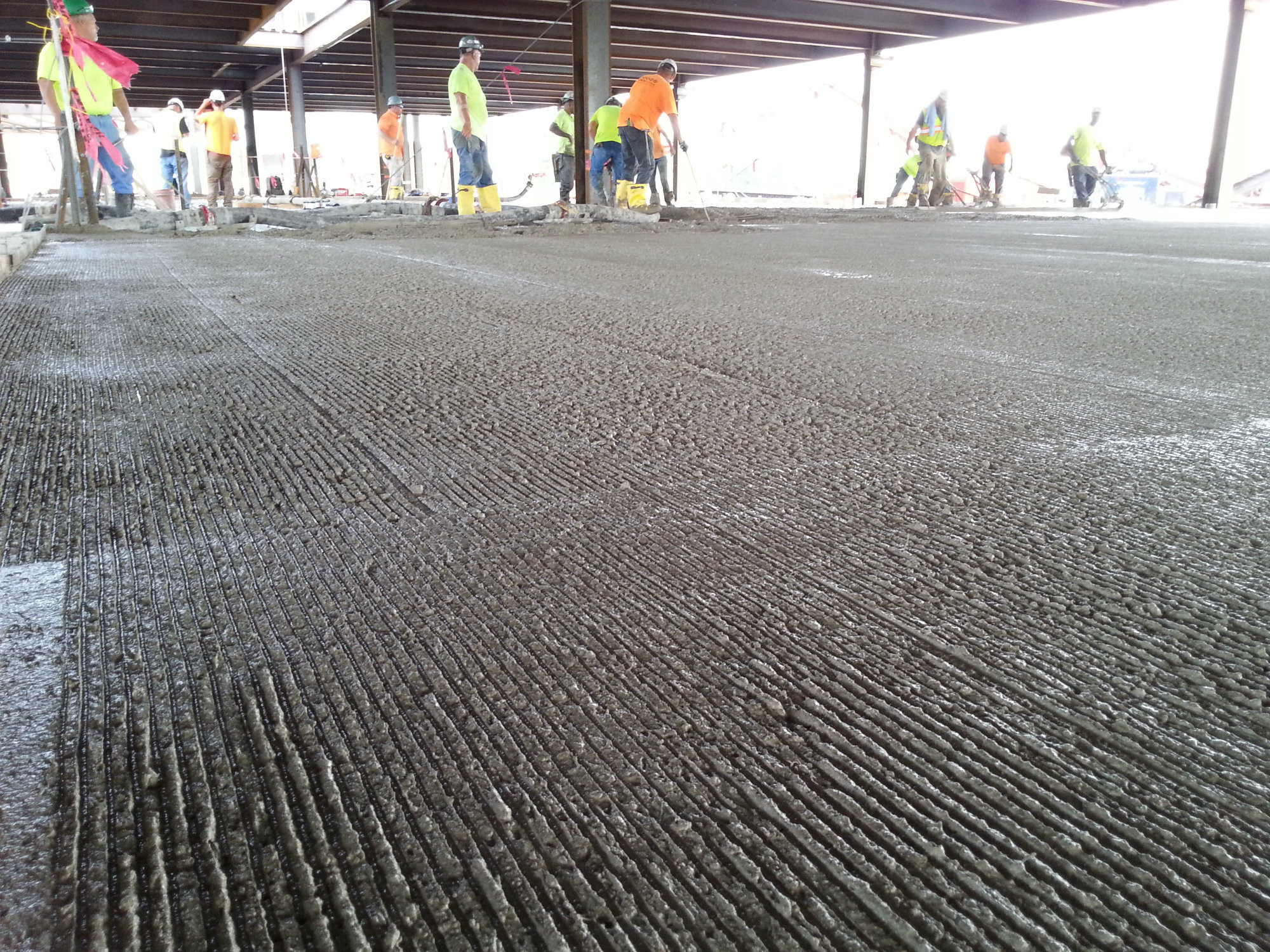 Putting Hardwood Floor On Concrete Slab Of Preparing for A topping Concrete Construction Magazine Surface with Regard to Preparing for A topping Concrete Construction Magazine Surface Preparation Concrete Slabs and Floors Overlays and toppings International Concrete