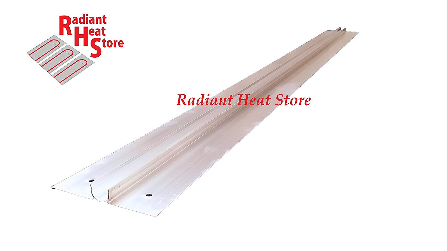 radiant heat and hardwood floors of radiant heat store 50 heavy gauge aluminum heat transfer plates within radiant heat store 50 heavy gauge aluminum heat transfer plates omega snap in 1 2 pex tubing style amazon com