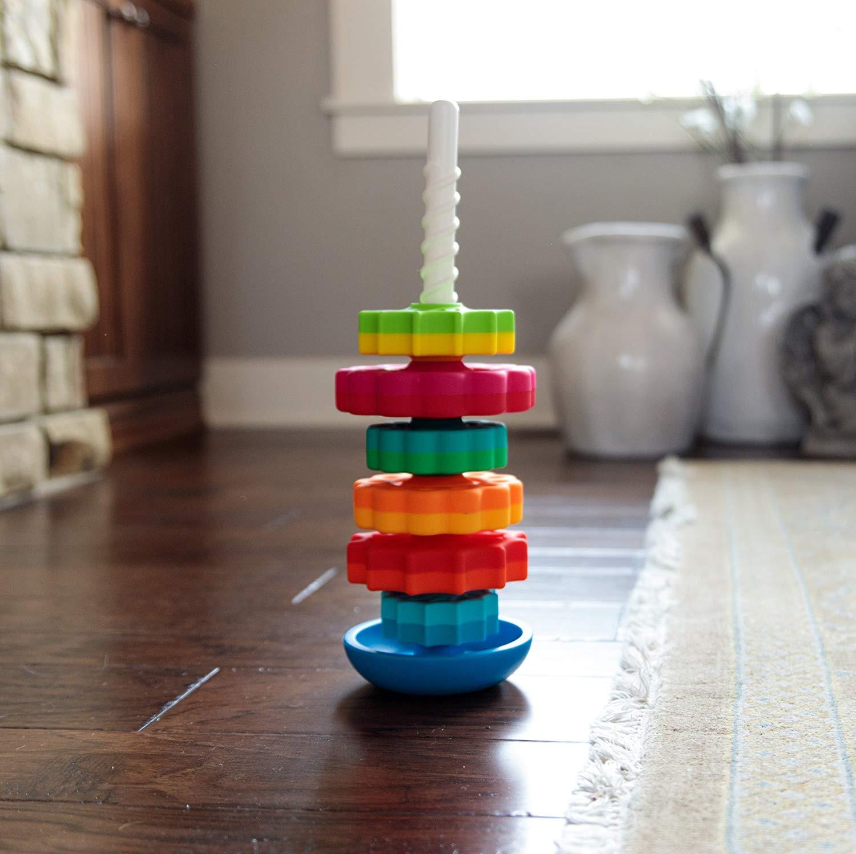 rainbow hardwood flooring reviews of amazon com fat brain toys kids spinagain toy toys games with regard to 91lqdgsqsol sl1500