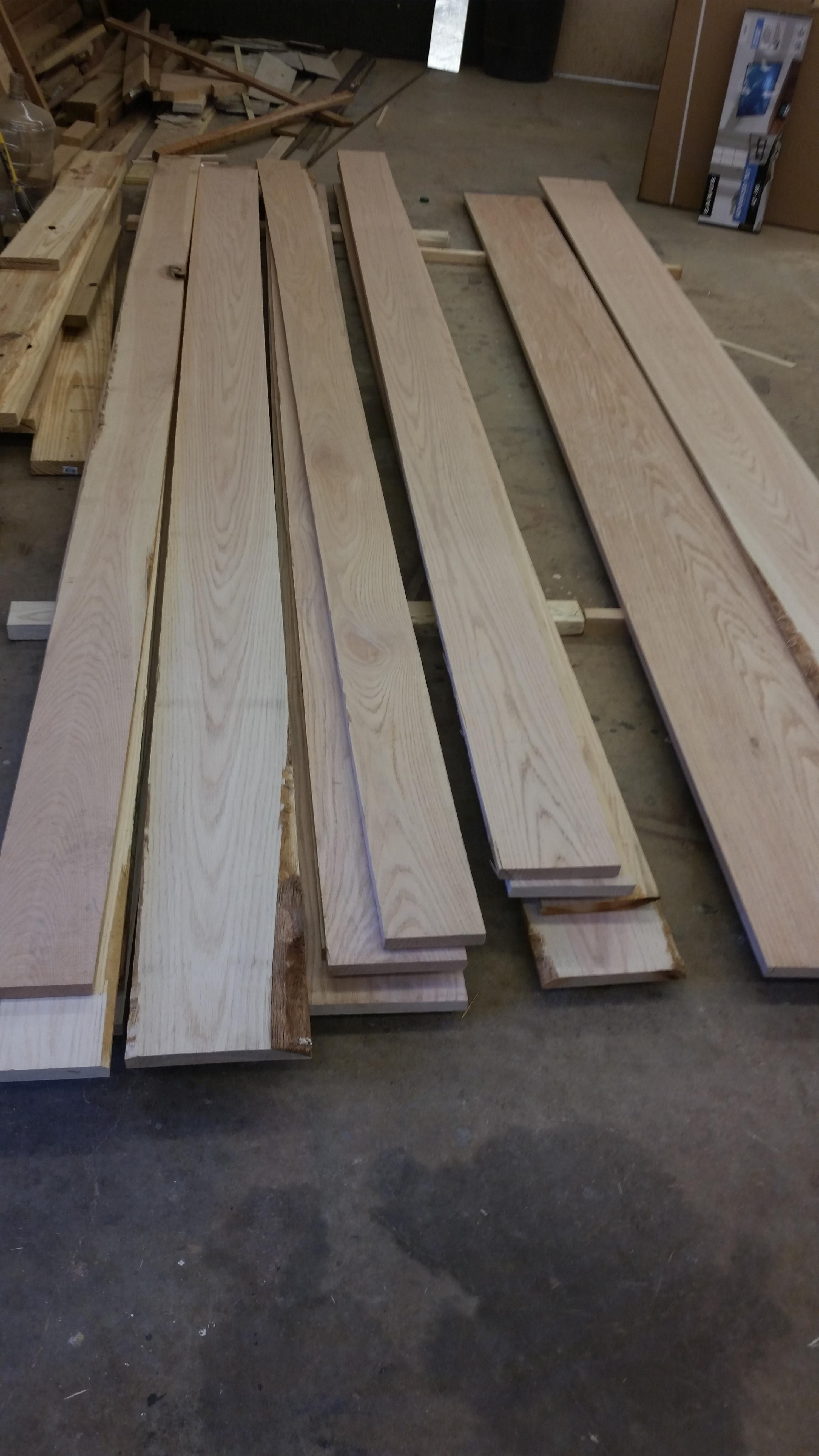 red oak hardwood flooring lowes of i can start the staircase now 207 board feet of red oak http ift with 207 board feet of red oak http