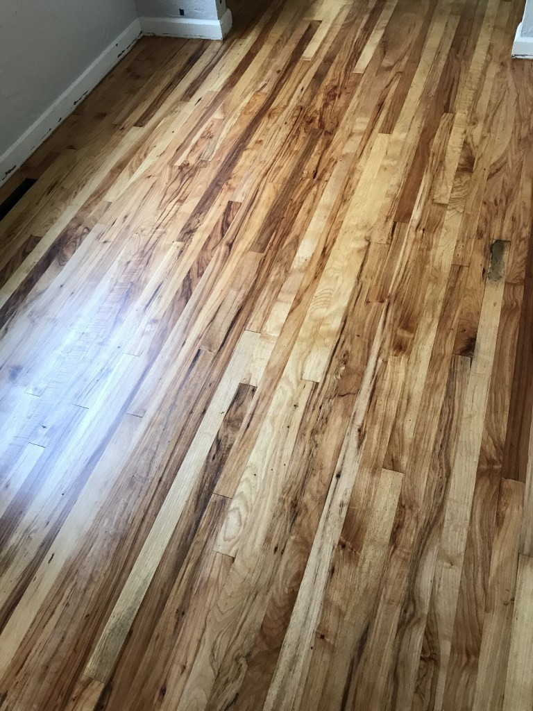 Refinished Hardwood Floors Drying Time Of Refinishing Hardwood Floors Carlhaven Made Inside the Polyurethane is Still Curing for Several Days so Avoid Putting Down Rugs or Heavy Furniture once they are Dry Your Floors are Done