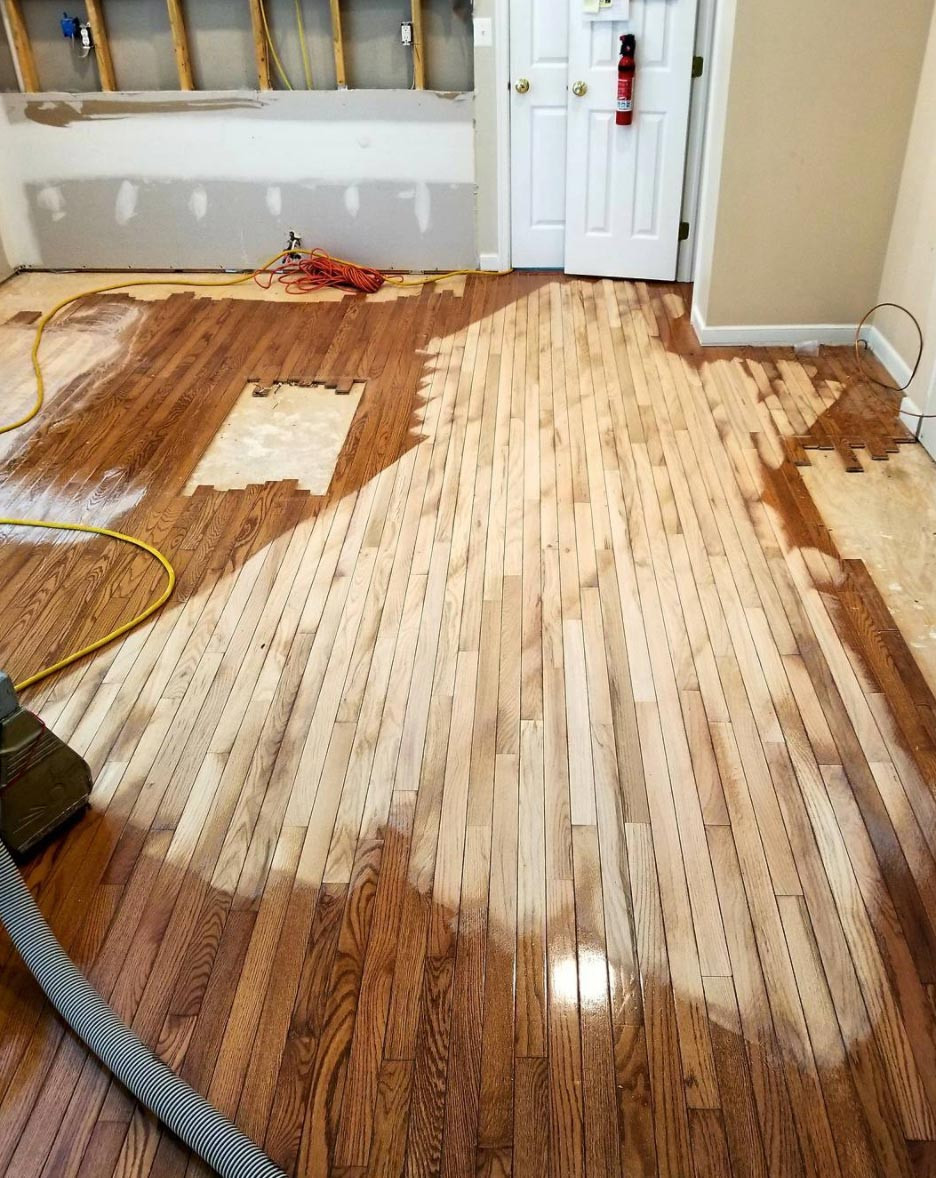 Restaining Hardwood Floors Of Vintage Wood Flooring with Regard to Vf6