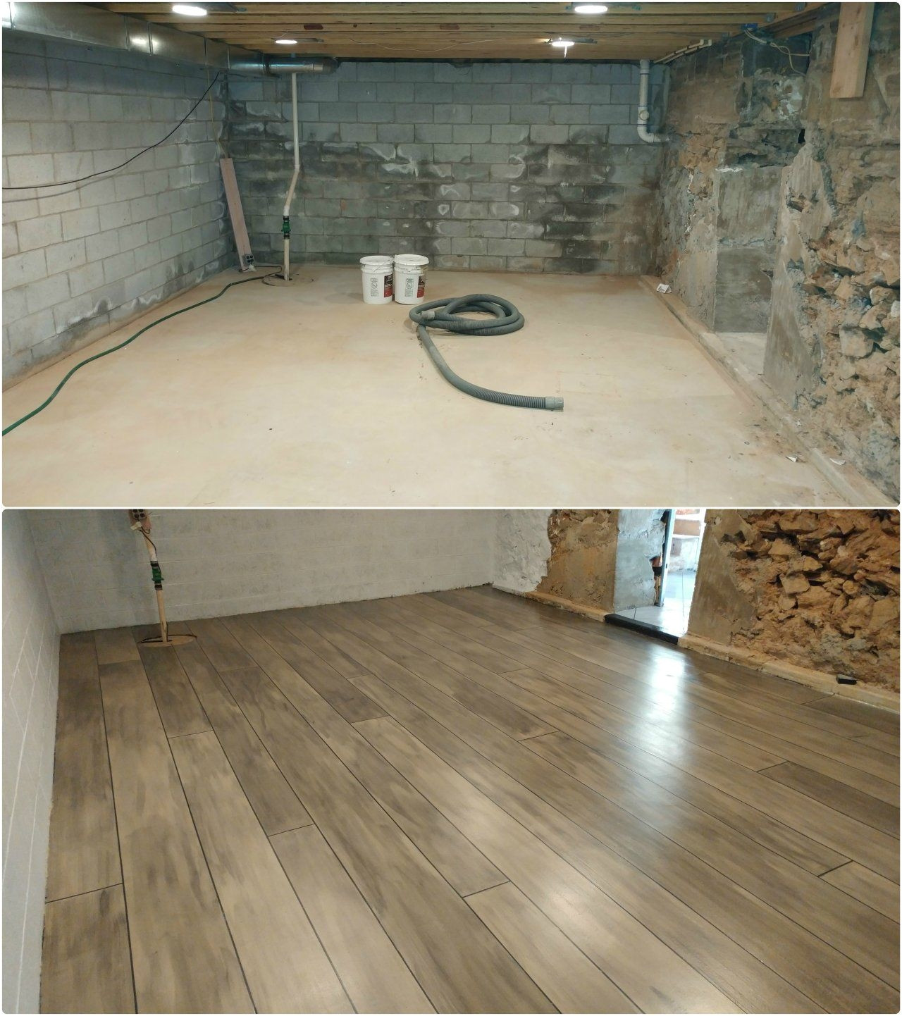 resurfacing hardwood floors without sanding of stamped concrete looks like wood floor bradshomefurnishings for stamped concrete looks like wood floor basement refinished with concrete wood ardmore pa rustic concrete
