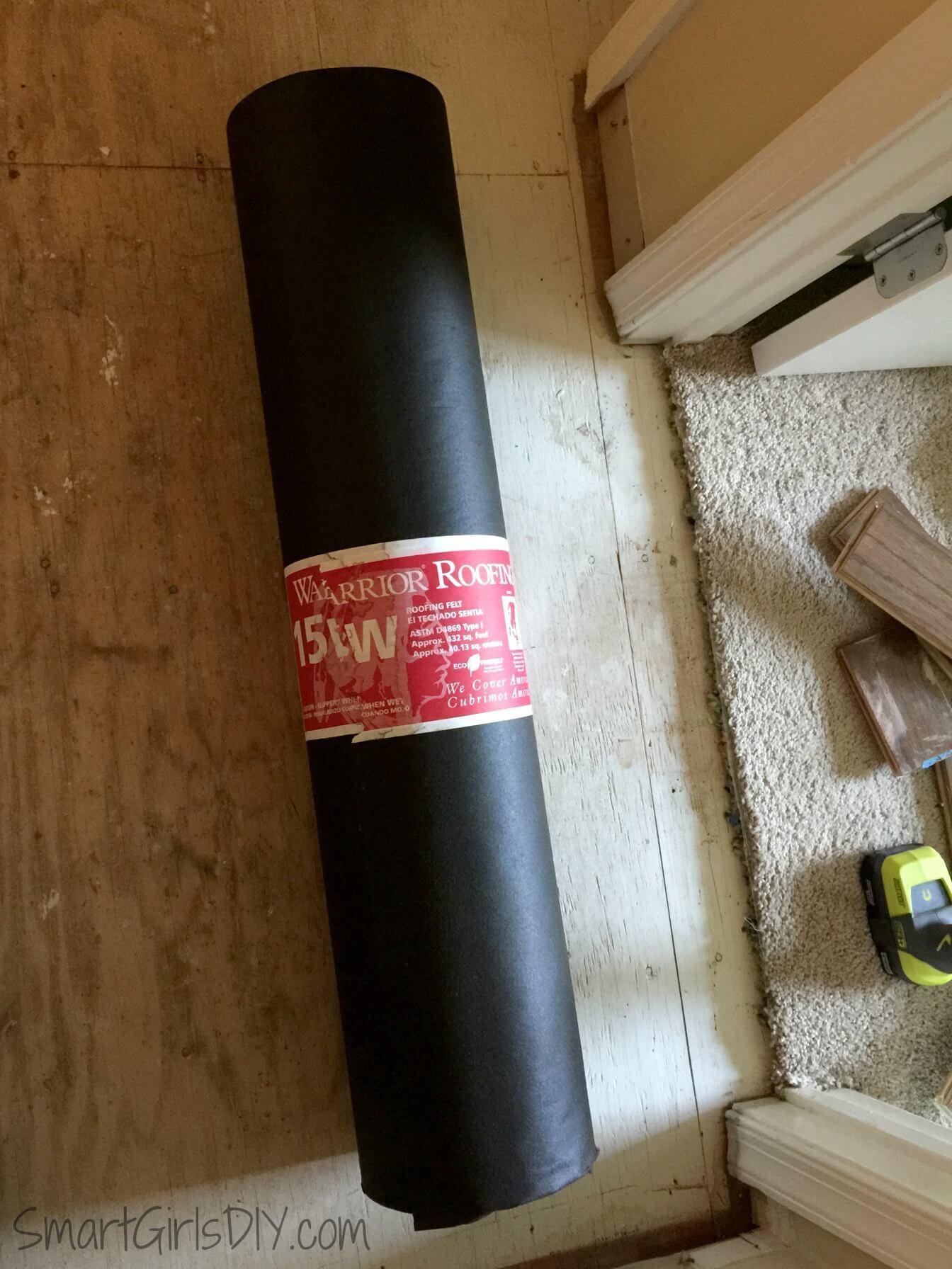 roofing felt hardwood floor underlayment of upstairs hallway 1 installing hardwood floors regarding roofing felt used as hardwood underlayment for bruce floors