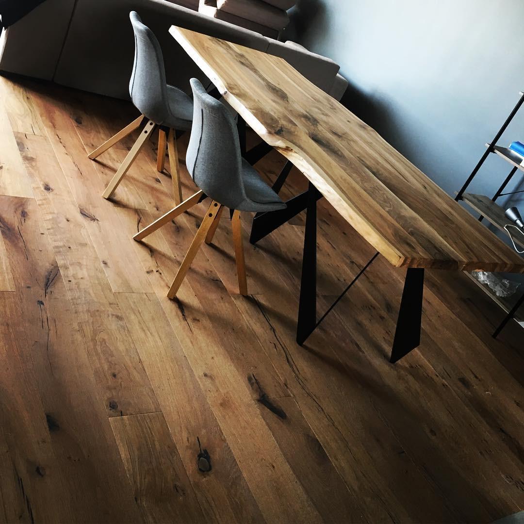 rustic hand scraped hardwood flooring of solidfloornl hash tags deskgram in realizacja poda'ogi drewnianej od solidfloornl dŸ™'dŸ¥‡solidfloornl woodfloors oakflooring wnetrza