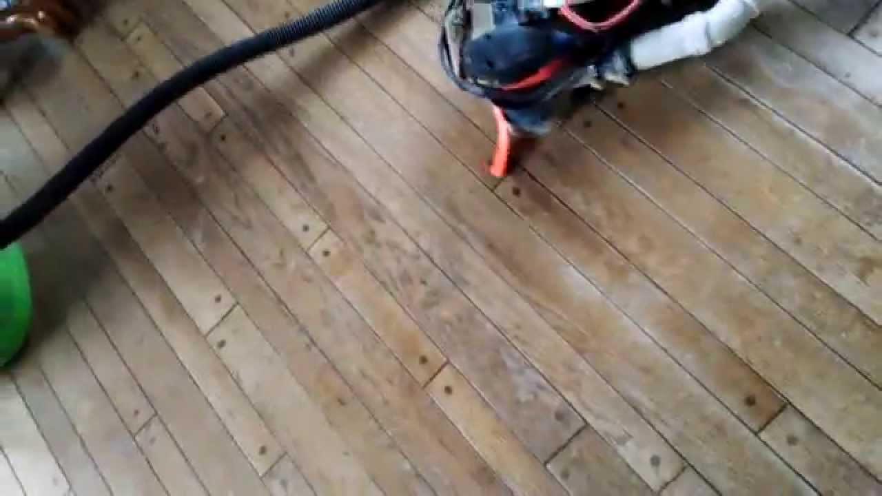 sanding hardwood floors with an orbital sander of home made floor sander youtube with home made floor sander