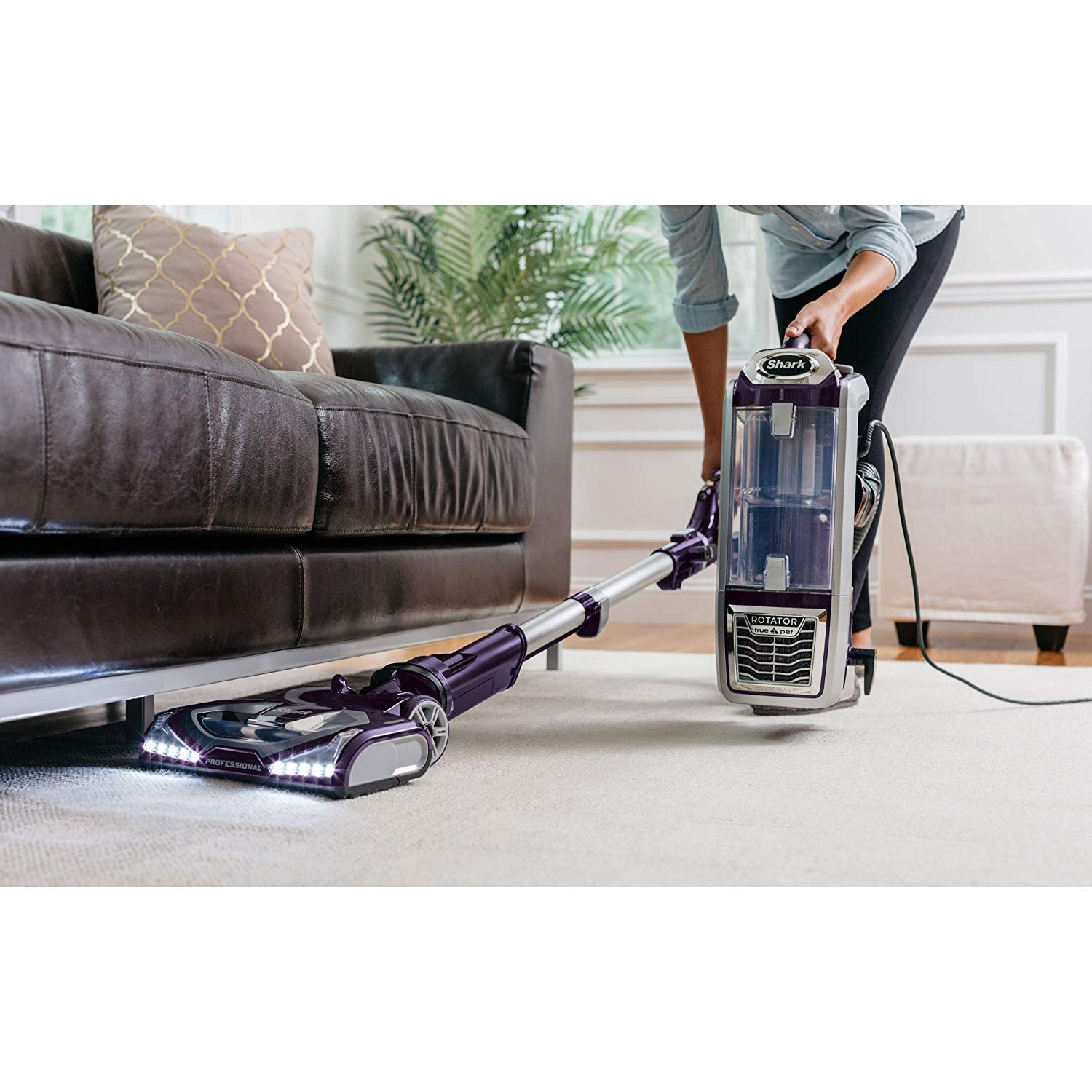 shark navigator professional hardwood floor vacuum cleaners of amazon com shark rotator powered lift away vacuum purple regarding amazon com shark rotator powered lift away vacuum purple refurbished