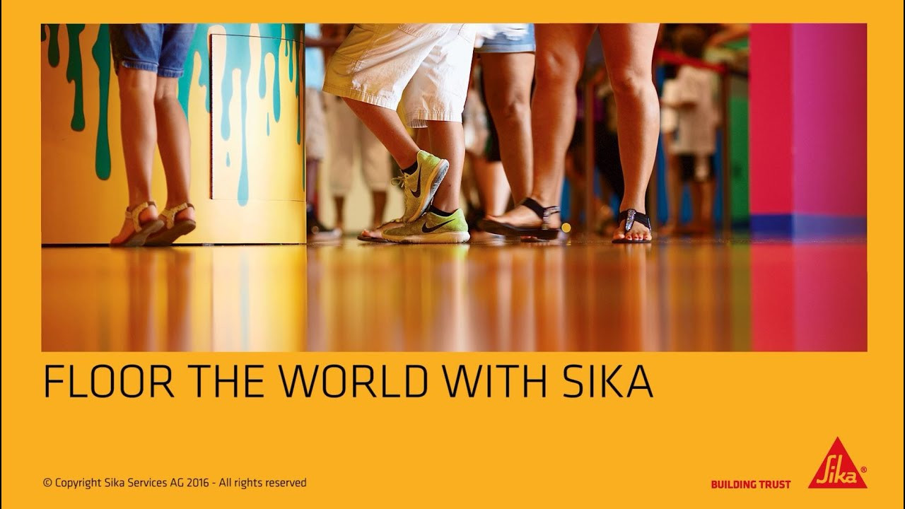 sika hardwood floor glue of floor the world with sikaa youtube with regard to floor the world with sikaa