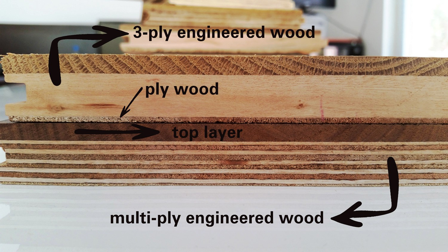 solid hardwood vs engineered hardwood vs laminate flooring of why choose engineered flooring maya abbot medium inside engineered wood and its layers