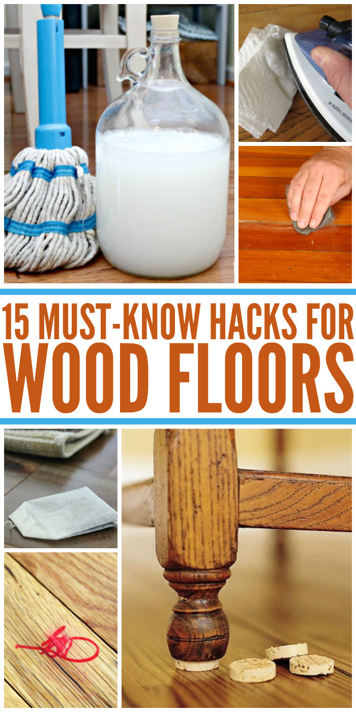 stain markers for hardwood floors of 15 wood floor hacks every homeowner needs to know with regard to if you liked these wood floor hacks youll love