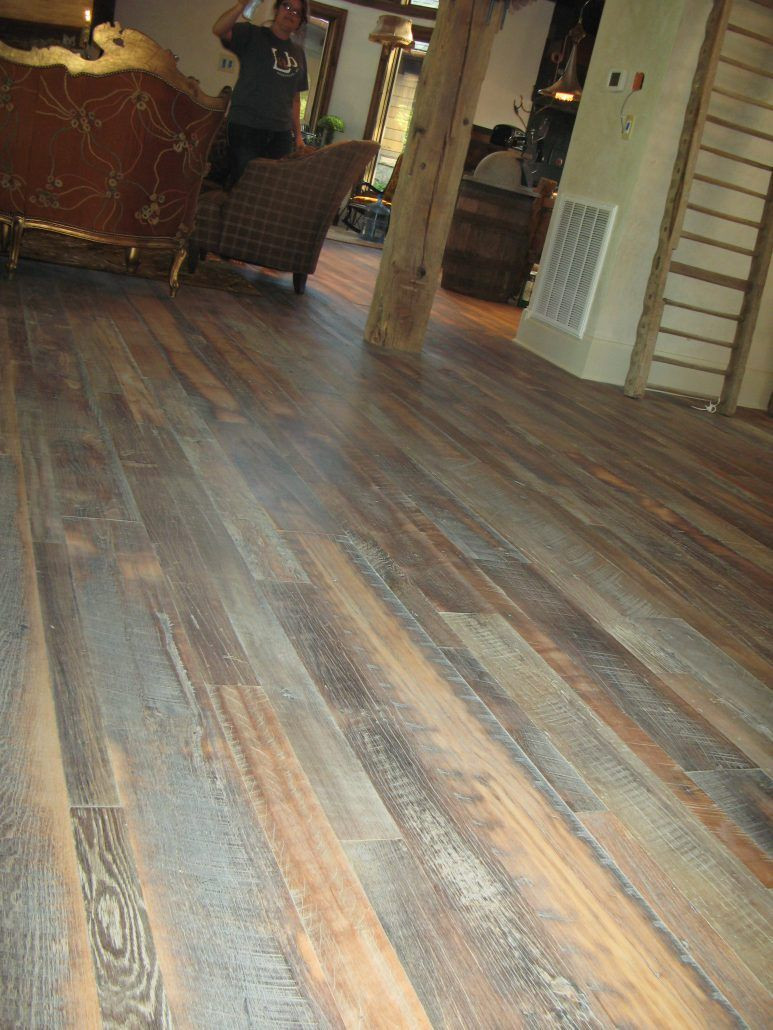 stained hardwood floors before and after of reclaimed mixed hardwood floor lends itself to castle grey oil for reclaimed mixed hardwood floor lends itself to castle grey oil finish