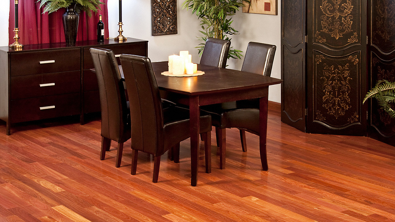 staining hardwood floors video of 3 4 x 3 1 4 santos mahogany odd lot bellawood lumber liquidators with videos