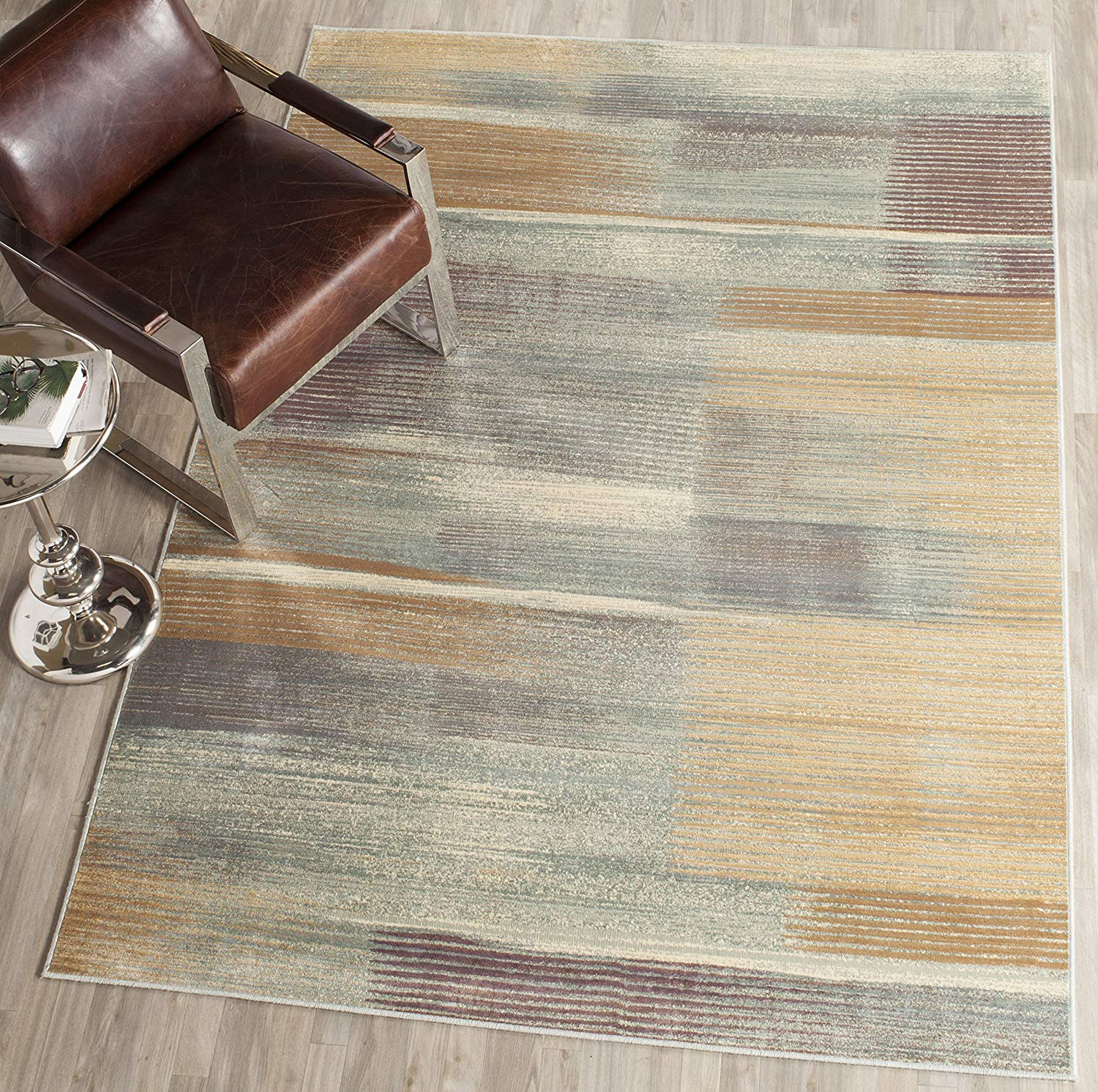 staining hardwood floors with buffer of amazon com safavieh vintage premium collection vtg198 2110 regarding amazon com safavieh vintage premium collection vtg198 2110 transitional abstract light blue distressed silky viscose area rug 67 x 92 kitchen