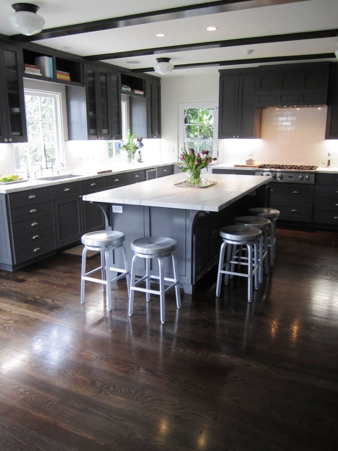 staining oak hardwood floors grey of dark wood cabinetry bathroom ideas jackolanternliquors pertaining to dark wood floors with grey walls kitchen floor dark wood floors with grey walls in