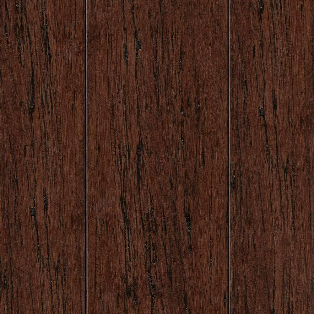 strand woven bamboo flooring vs hardwood of hand scraped strand woven mocha 3 8 in thick x 2 3 8 in wide x 36 throughout hand scraped strand woven mocha brown 3 8 in thick x 2 3 8 in wide x 36 in length solid bamboo flooring 28 5 sq ft case