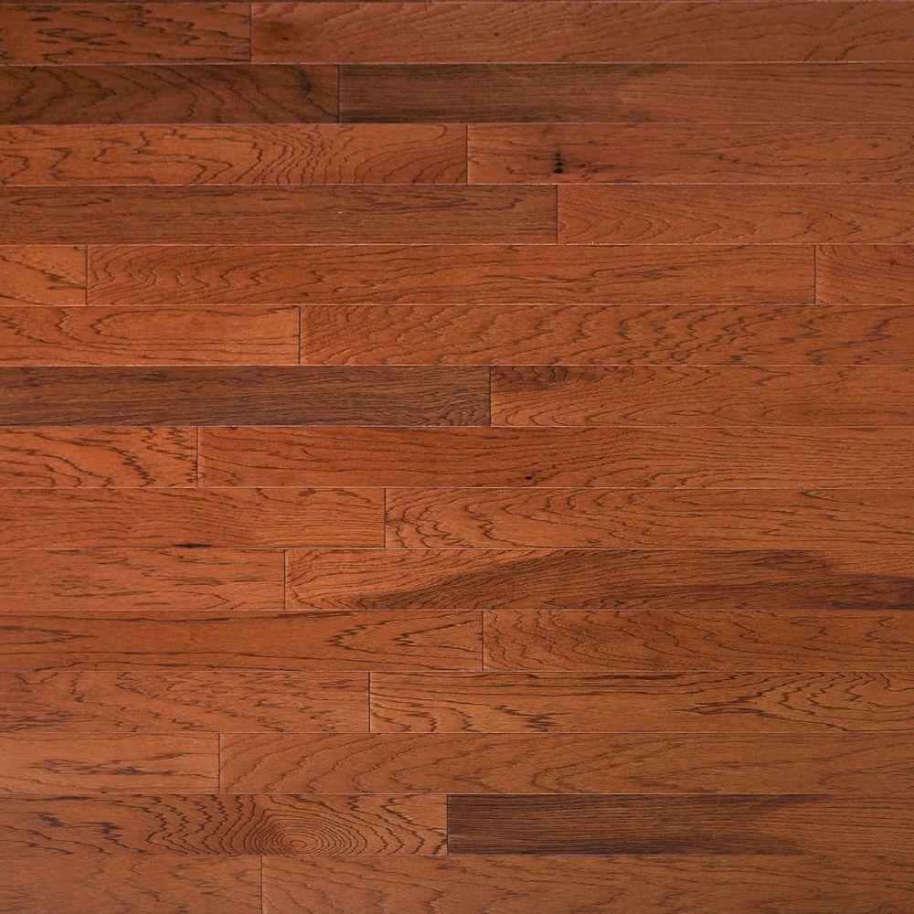 sunrise hardwood floors boise of engineered hardwood hardwood flooring the home depot regarding hickory leather 3 8 in thick x 4 3 4 in
