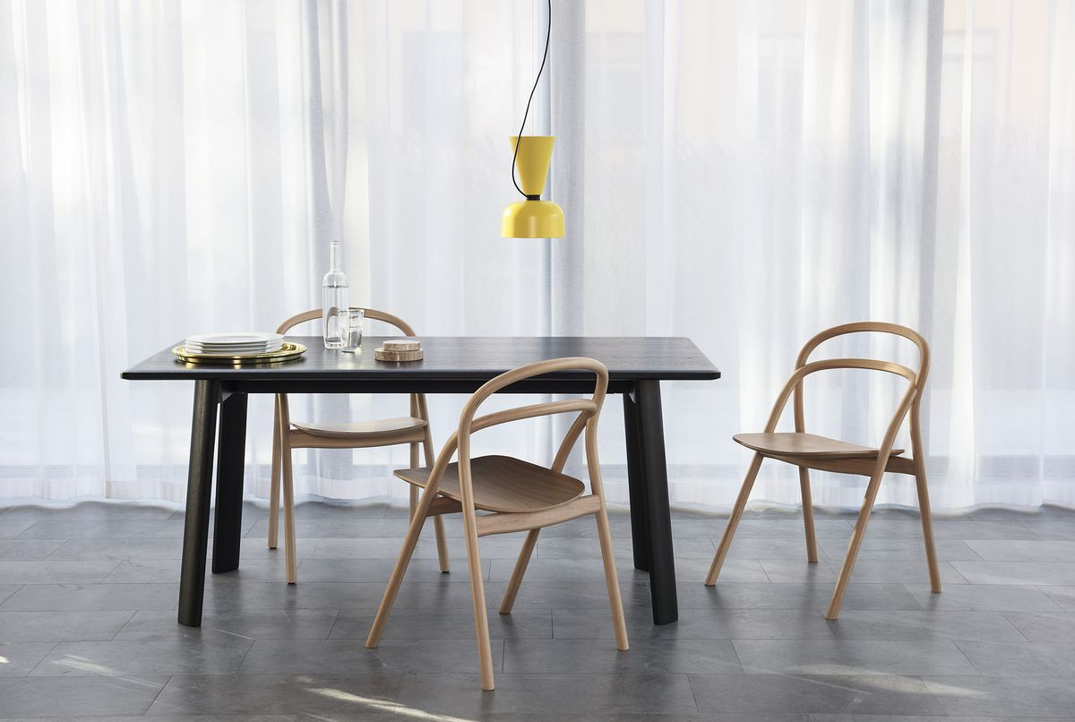 the hardwood flooring company reno of 7 furniture makers on the business challenges of their craft curbed with table and chairs from hem