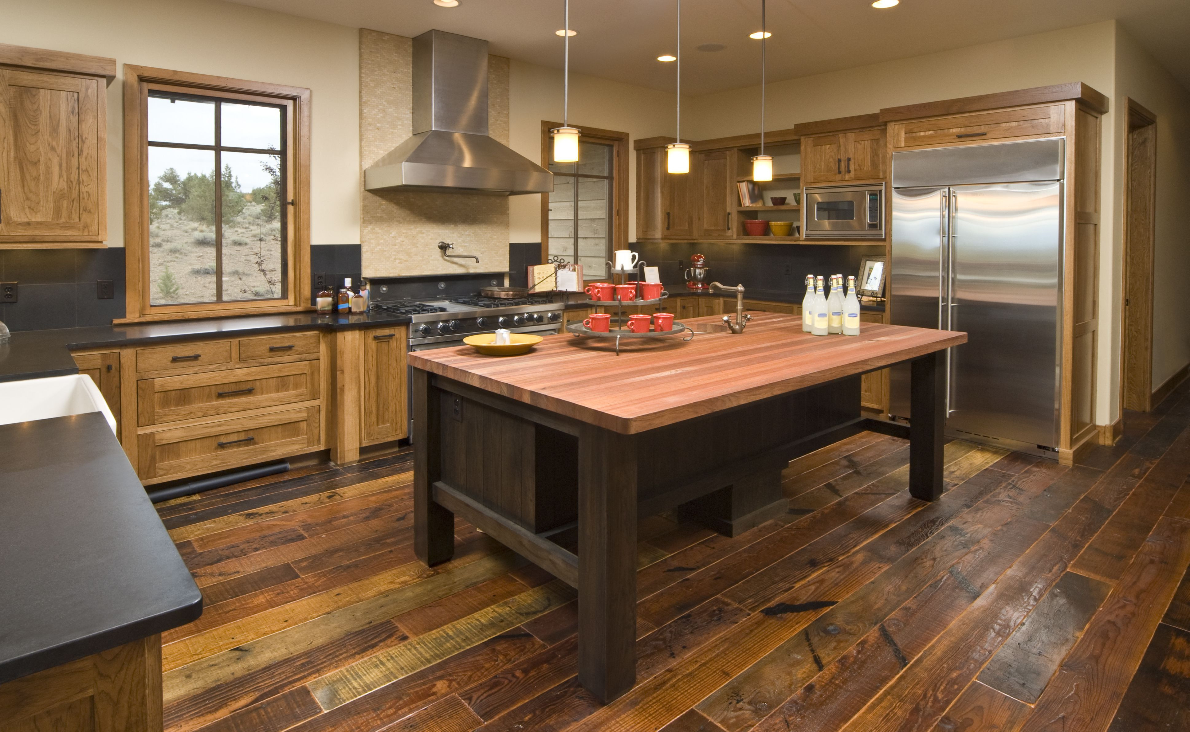 the hardwood flooring company reno of where to buy reclaimed wood flooring inside rustic modern kitchen 157565456 58ae76a73df78c345ba2f5d1
