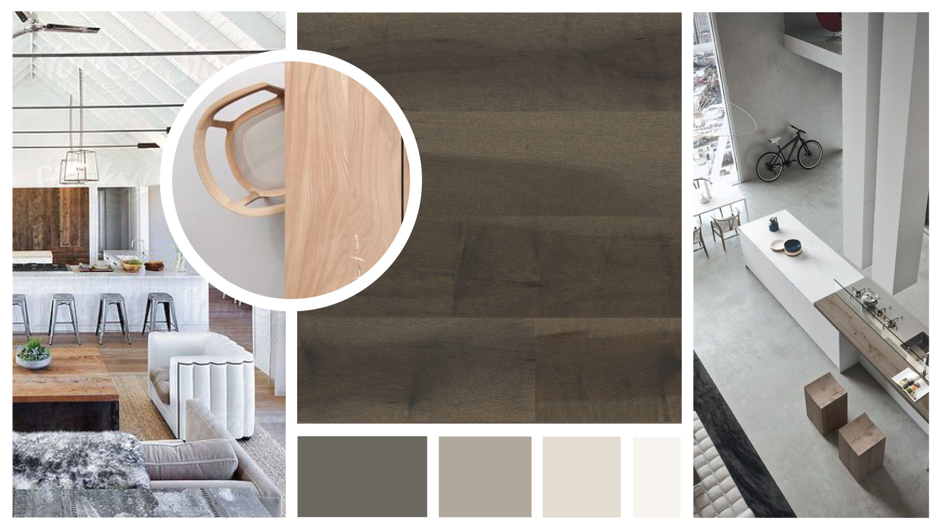 trending hardwood floor colors 2017 of 4 latest hardwood flooring trends lauzon flooring pertaining to for the family centric great room where natural hardwood flooring unifies the kitchen family and dining rooms into a single welcoming living space