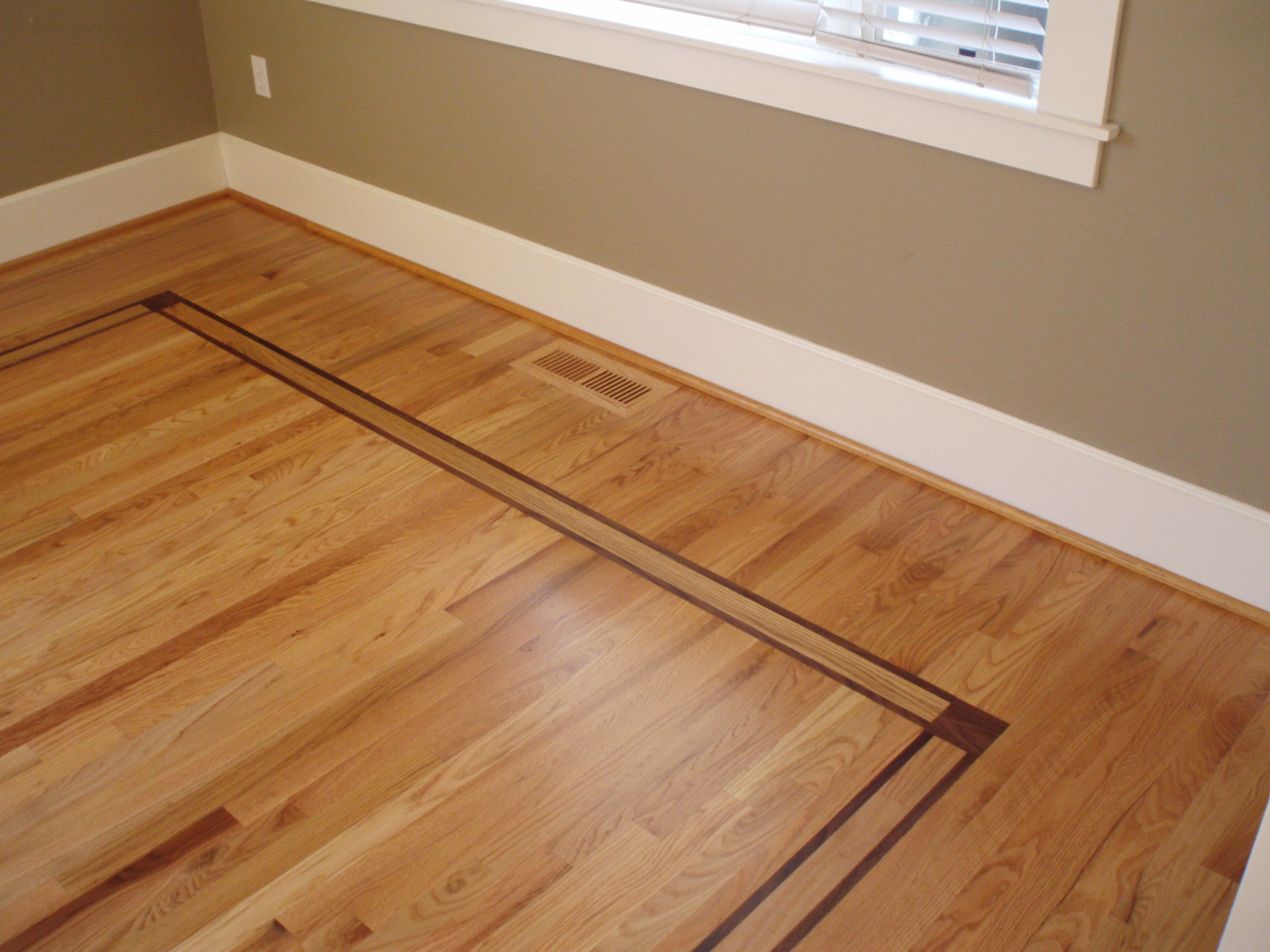underlayment for solid hardwood floors of inlay of walnut with red oak flooring www dominohardwoodfloors com intended for inlay of walnut with red oak flooring www dominohardwoodfloors com portland or domino hardwood floors inc