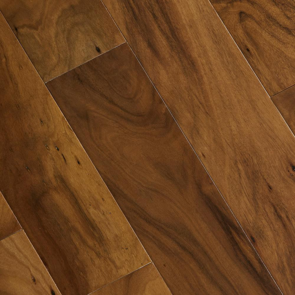 unfinished hand scraped hardwood flooring of home legend hand scraped natural acacia 3 4 in thick x 4 3 4 in with home legend hand scraped natural acacia 3 4 in thick x 4 3