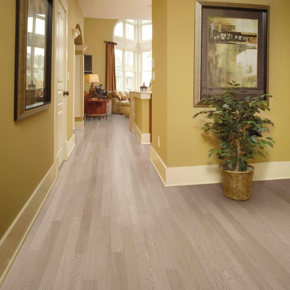 unfinished hardwood flooring menards of home legend wire brushed oak frost 3 8 in thick x 5 in wide x regarding home legend wire brushed oak frost 3 8 in thick x 5 in wide x 47 1 4 in length click lock hardwood flooring 19 686 sq ft case hl325h the home depot