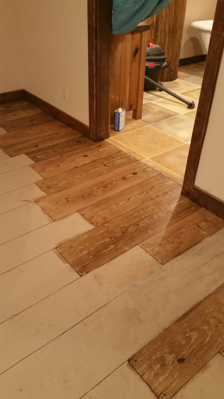 unfinished hardwood flooring st louis of 54 best a floor images on pinterest flooring floors and subway tiles within this is a concrete floor painted to look like wood im using a